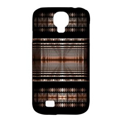 Fractal Art Design Geometry Samsung Galaxy S4 Classic Hardshell Case (pc+silicone)