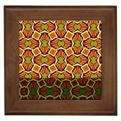Geometry Shape Retro Trendy Symbol Framed Tiles