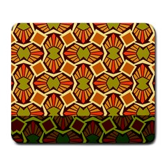 Geometry Shape Retro Trendy Symbol Large Mousepads