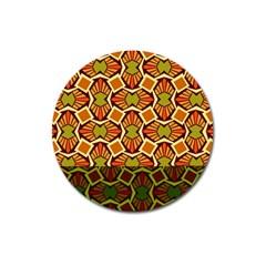 Geometry Shape Retro Trendy Symbol Magnet 3  (round)