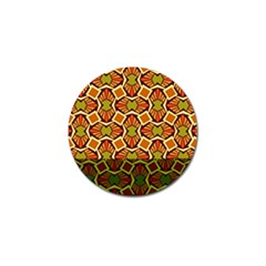 Geometry Shape Retro Trendy Symbol Golf Ball Marker