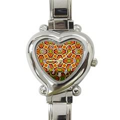 Geometry Shape Retro Trendy Symbol Heart Italian Charm Watch