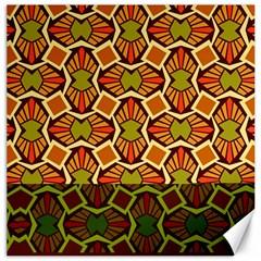 Geometry Shape Retro Trendy Symbol Canvas 20  X 20