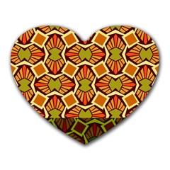 Geometry Shape Retro Trendy Symbol Heart Mousepads
