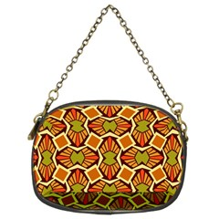 Geometry Shape Retro Trendy Symbol Chain Purses (two Sides)
