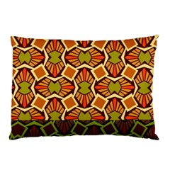 Geometry Shape Retro Trendy Symbol Pillow Case