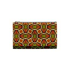 Geometry Shape Retro Trendy Symbol Cosmetic Bag (Small)