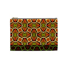 Geometry Shape Retro Trendy Symbol Cosmetic Bag (medium)