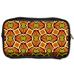 Geometry Shape Retro Trendy Symbol Toiletries Bags