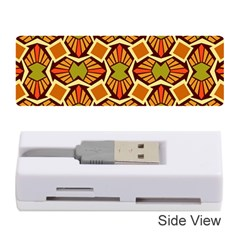Geometry Shape Retro Trendy Symbol Memory Card Reader (stick)