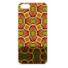 Geometry Shape Retro Trendy Symbol Apple Iphone 5 Seamless Case (white)