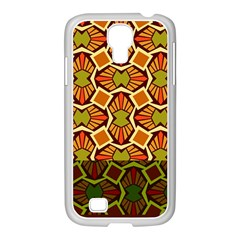 Geometry Shape Retro Trendy Symbol Samsung Galaxy S4 I9500/ I9505 Case (white)
