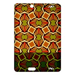 Geometry Shape Retro Trendy Symbol Amazon Kindle Fire Hd (2013) Hardshell Case