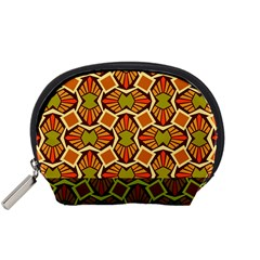 Geometry Shape Retro Trendy Symbol Accessory Pouches (small)
