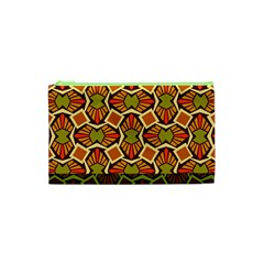 Geometry Shape Retro Trendy Symbol Cosmetic Bag (XS)
