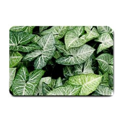 Green Leaves Nature Pattern Plant Small Doormat