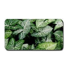 Green Leaves Nature Pattern Plant Medium Bar Mats