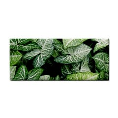 Green Leaves Nature Pattern Plant Cosmetic Storage Cases