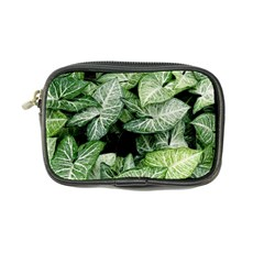 Green Leaves Nature Pattern Plant Coin Purse