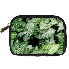 Green Leaves Nature Pattern Plant Digital Camera Cases