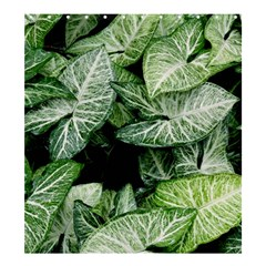 Green Leaves Nature Pattern Plant Shower Curtain 66  X 72  (large)
