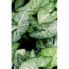 Green Leaves Nature Pattern Plant 5 5  X 8 5  Notebooks