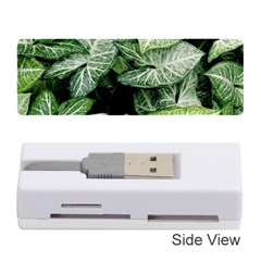 Green Leaves Nature Pattern Plant Memory Card Reader (stick)