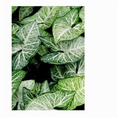 Green Leaves Nature Pattern Plant Large Garden Flag (two Sides)