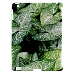 Green Leaves Nature Pattern Plant Apple Ipad 3/4 Hardshell Case (compatible With Smart Cover)