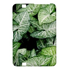 Green Leaves Nature Pattern Plant Kindle Fire Hd 8 9
