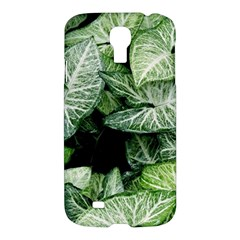 Green Leaves Nature Pattern Plant Samsung Galaxy S4 I9500/i9505 Hardshell Case