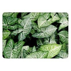 Green Leaves Nature Pattern Plant Samsung Galaxy Tab 8 9  P7300 Flip Case
