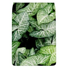 Green Leaves Nature Pattern Plant Flap Covers (l)