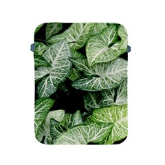 Green Leaves Nature Pattern Plant Apple Ipad 2/3/4 Protective Soft Cases