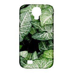 Green Leaves Nature Pattern Plant Samsung Galaxy S4 Classic Hardshell Case (pc+silicone)