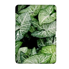 Green Leaves Nature Pattern Plant Samsung Galaxy Tab 2 (10 1 ) P5100 Hardshell Case