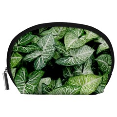 Green Leaves Nature Pattern Plant Accessory Pouches (Large)