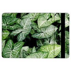 Green Leaves Nature Pattern Plant Ipad Air 2 Flip