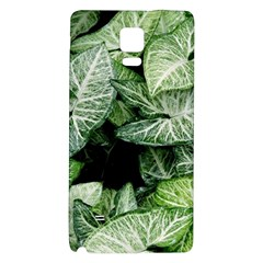 Green Leaves Nature Pattern Plant Galaxy Note 4 Back Case