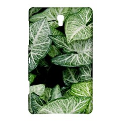 Green Leaves Nature Pattern Plant Samsung Galaxy Tab S (8 4 ) Hardshell Case