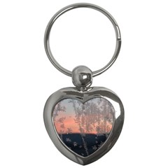 Hardest Frost Winter Cold Frozen Key Chains (heart)
