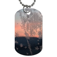 Hardest Frost Winter Cold Frozen Dog Tag (one Side)