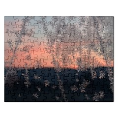 Hardest Frost Winter Cold Frozen Rectangular Jigsaw Puzzl