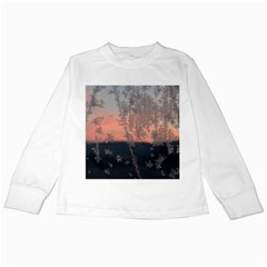 Hardest Frost Winter Cold Frozen Kids Long Sleeve T Shirts