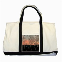 Hardest Frost Winter Cold Frozen Two Tone Tote Bag