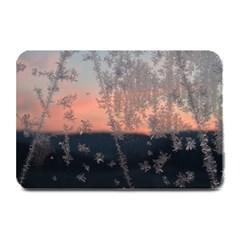 Hardest Frost Winter Cold Frozen Plate Mats