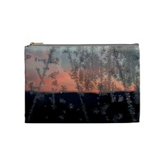 Hardest Frost Winter Cold Frozen Cosmetic Bag (medium)