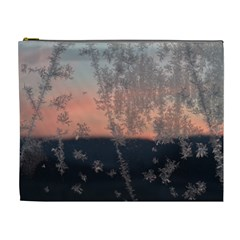 Hardest Frost Winter Cold Frozen Cosmetic Bag (xl)