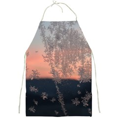 Hardest Frost Winter Cold Frozen Full Print Aprons