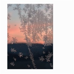 Hardest Frost Winter Cold Frozen Large Garden Flag (two Sides)